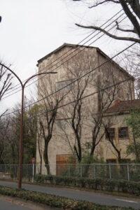米軍基地の廃墟